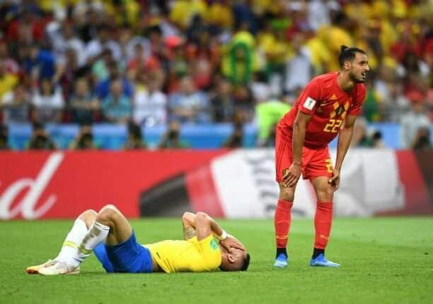Por 2 a 1, Brasil deixa a 'Copa 2018' e jogadores lamentam: