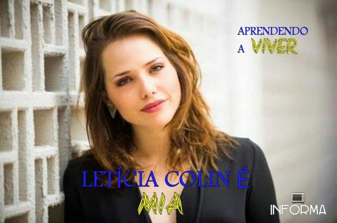 Letícia Colin é Mia