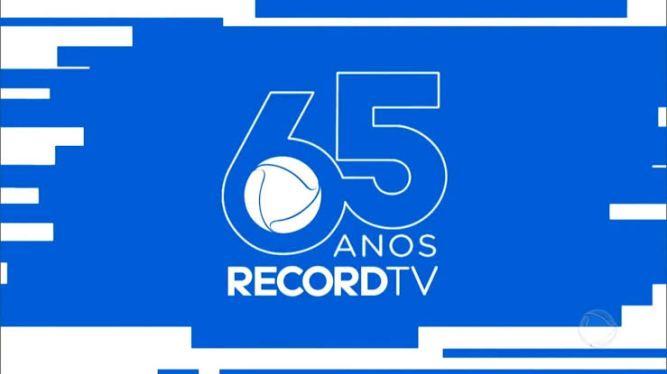 Record Tv lança nova indentidade visual em seus programas. Veja como ficou;