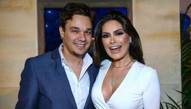 Ao saber do falecimento do sogro, Natália Guimarães passa mal na Record Tv