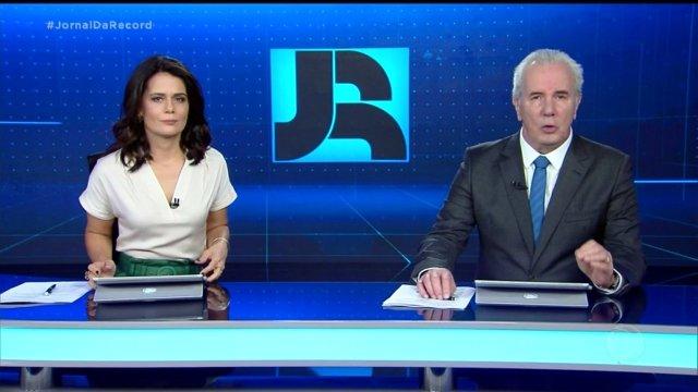 Em novo horário, Jornal da Record chega a 12 pontos e conquista a vice-liderança isolada; confira a prévia